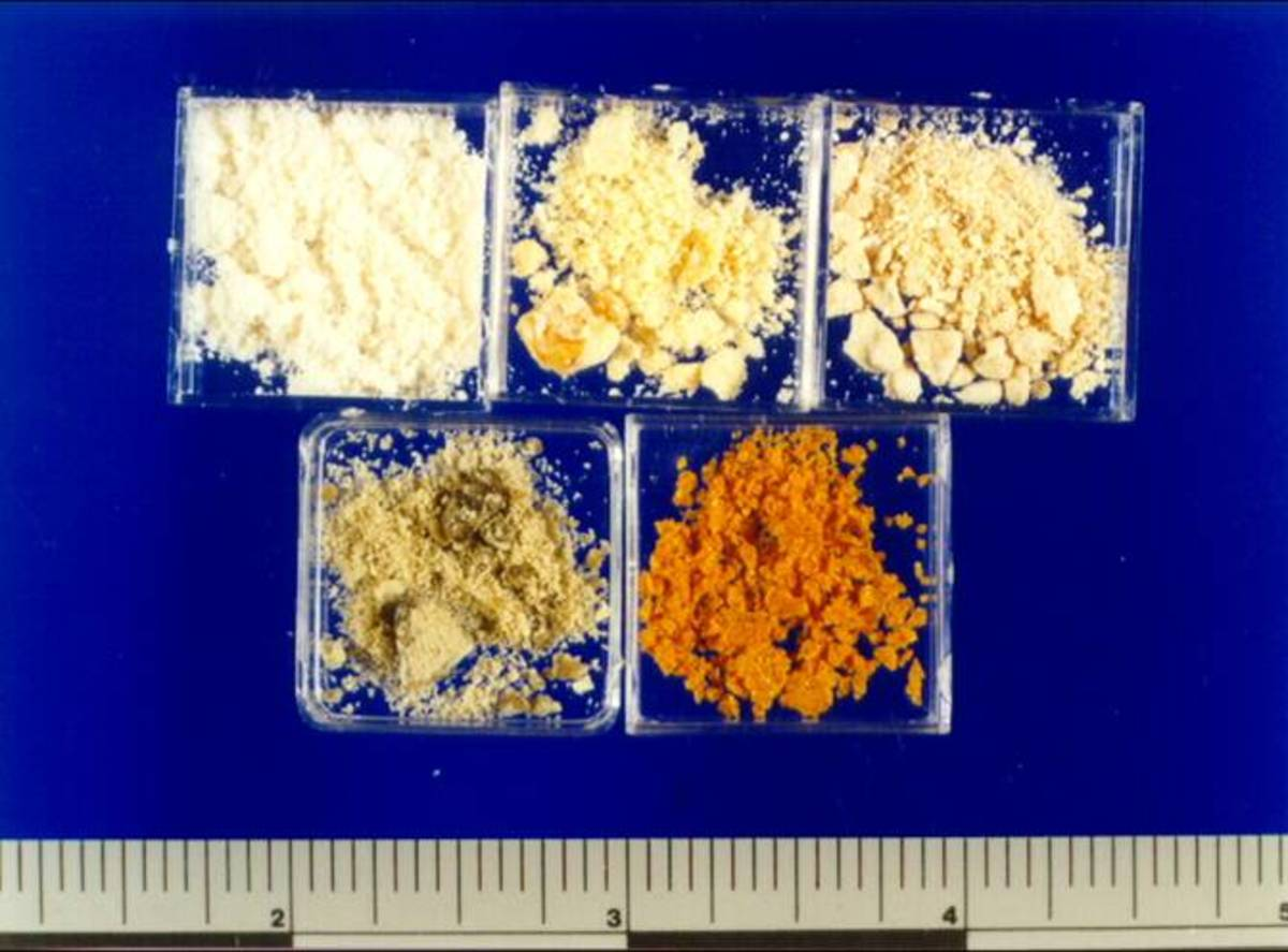Methamphetamine can come in various colors, and be ingested many different ways. By inhalation, needle, smoked and even pill form.