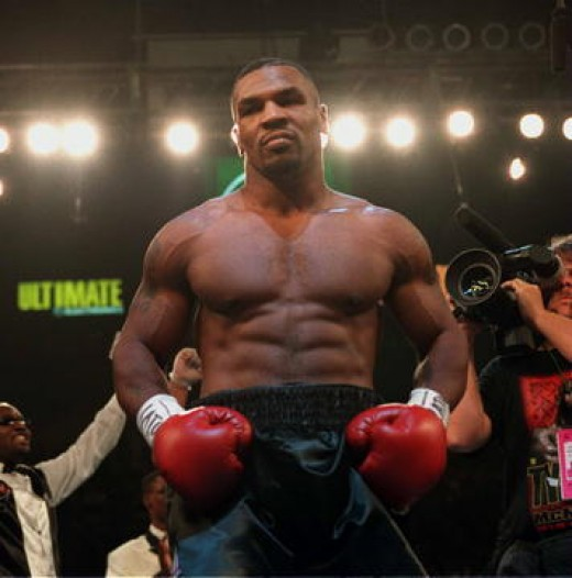 Number Eighth Boxer of all time - Mike Tyson