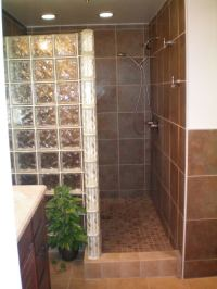 Tiled Doorless Walk In Shower Sizes