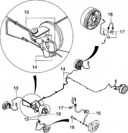 chevrolet emergency brake diagram