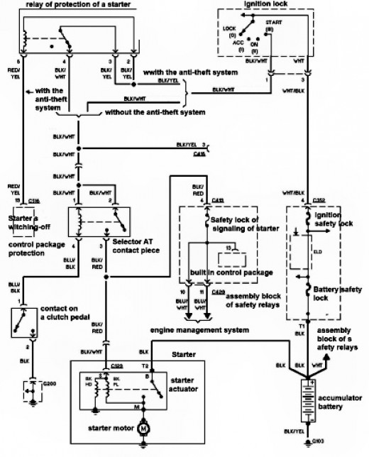 electrical diagram honda civic ~ Circuit Diagrams