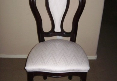 Dining Chair Upholstery Instructions
