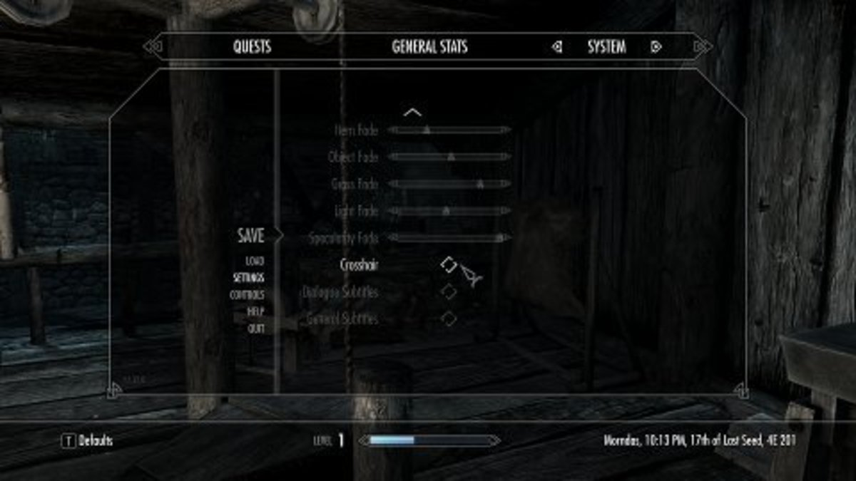 How to Remove the Compass and Crosshair in Skyrim – games