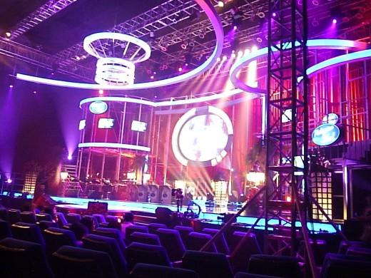 Philippine Idol Stage in SM Megamall Cinema 3.