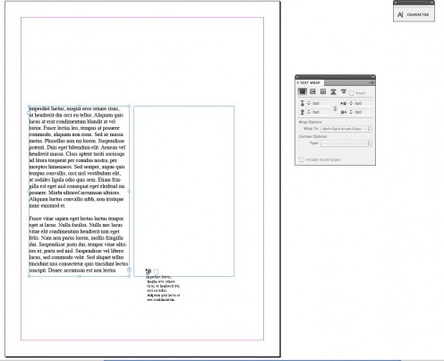 How To Link Text and Create Columns In Adobe InDesign CS4