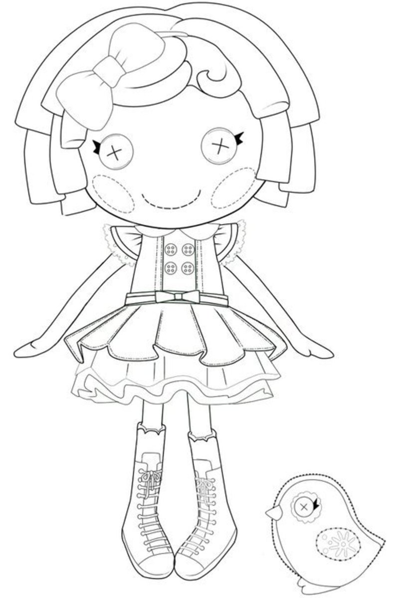 The Best Lalaloopsy Dolls Coloring Pages