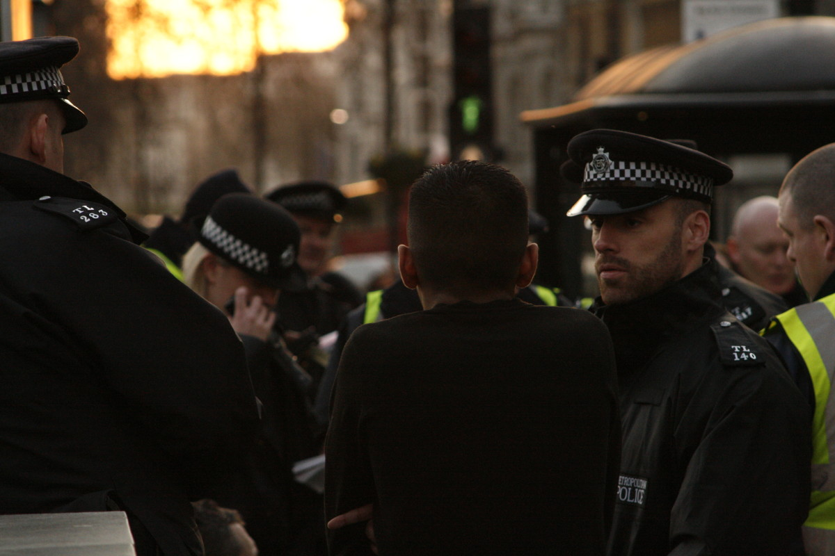 """Police """"stop and search"""" of youth foments hatred"""