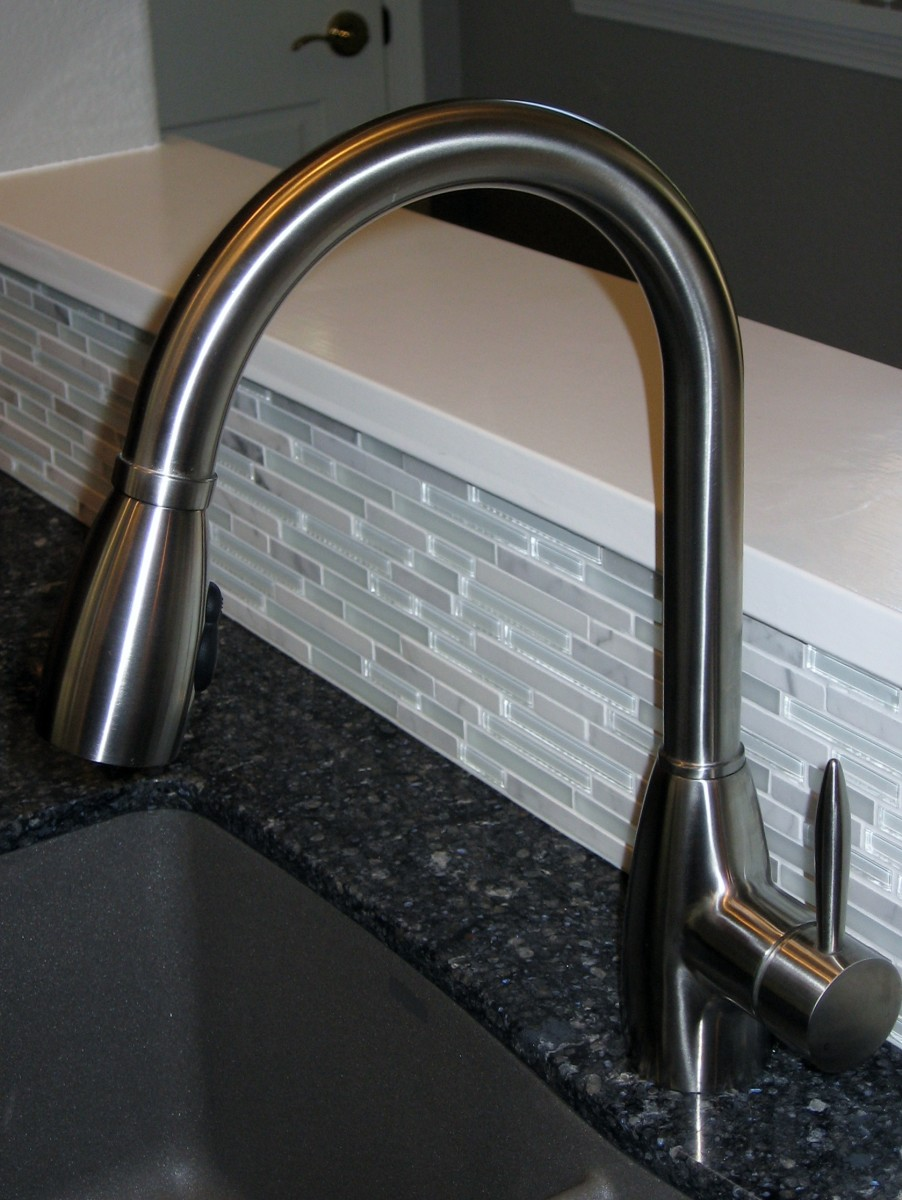 kitchen faucets stainless steel formica countertops cost best faucet