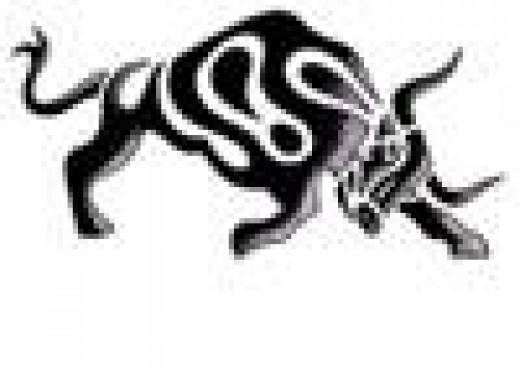 Tribal Taurus Tattoo Designs. 1 The myth of the white bull.