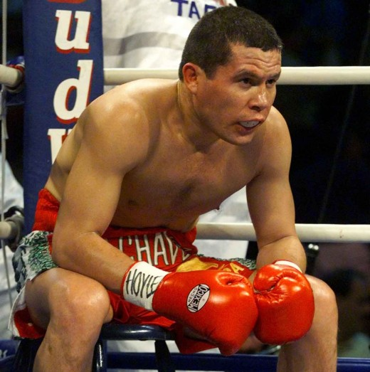 Number Six Boxer of all time - Julio Cesar Chavez