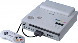 Essentially a SNES with a CD-ROM drive. This was the original PlayStation prototype.
