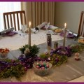 Christmas table decorations ideas themes settings crafts