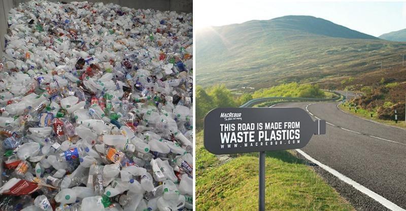 塑膠大變身!工程師「把塑膠瓶做成馬路」環保又好看 耐用度「比瀝青強3倍」網淚曝:創作靈感超暖心 - 創意 ...
