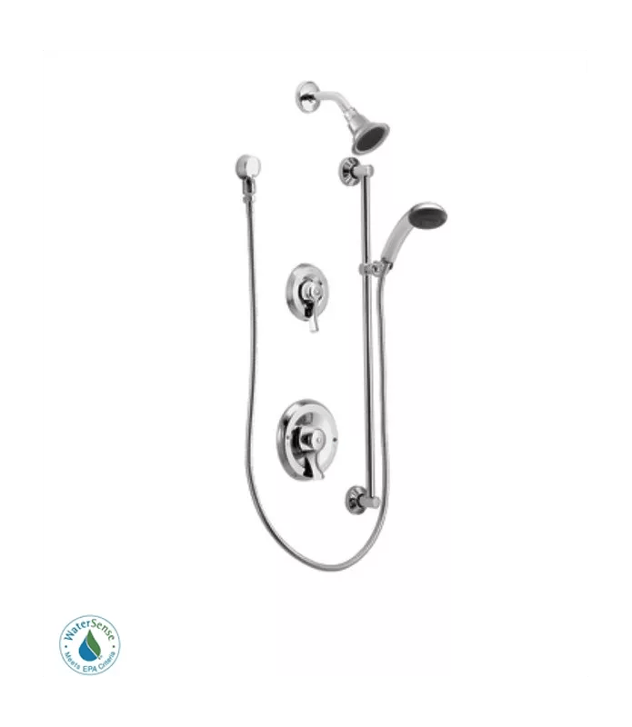 Moen 8342EP15 Chrome Shower System with 1.5 GPM Single