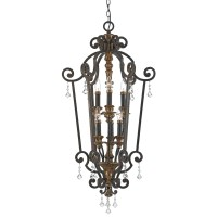 Quoizel MQ5206HL Heirloom Marquette 6 Light Candle-Style ...