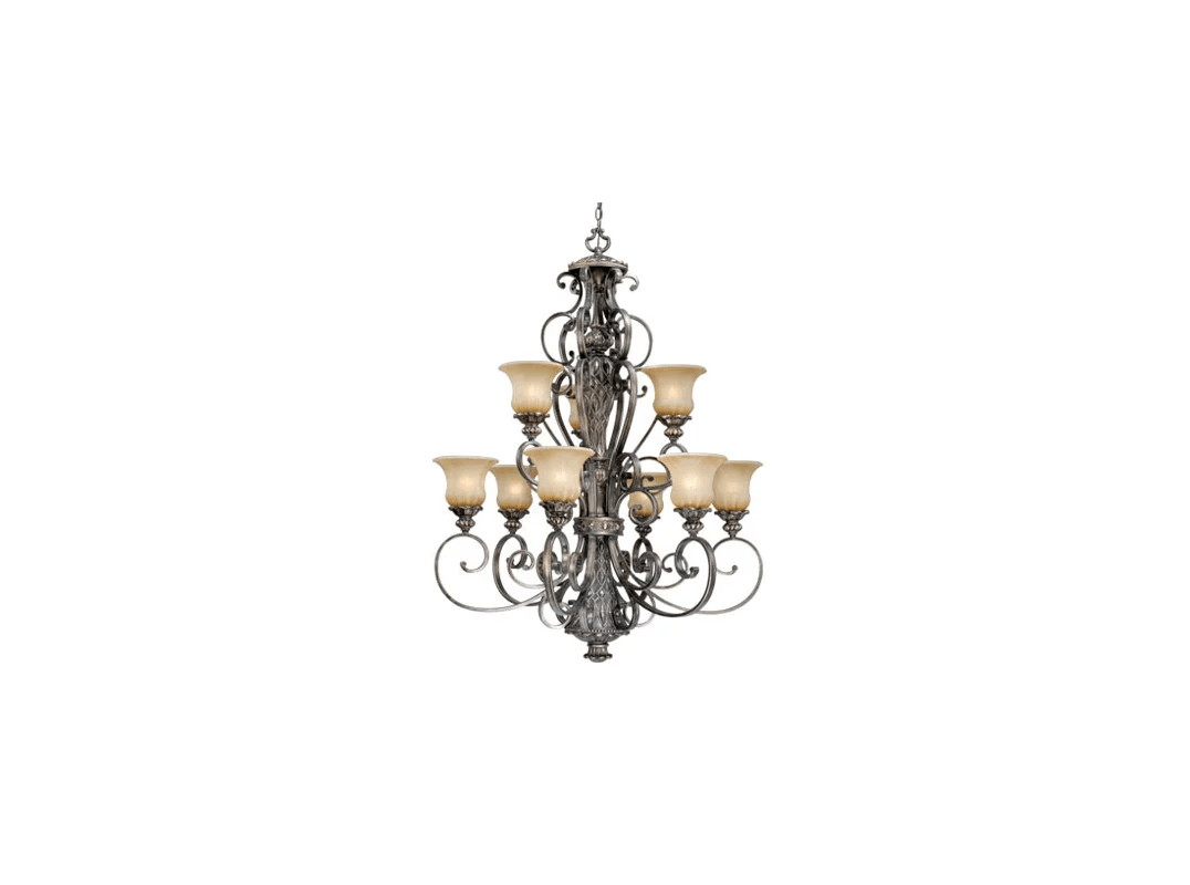 Vaxcel Lighting Bg Chu009pz Parisian Bronze Bellagio 9