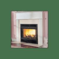 "Majestic WMC36 Black 36"" Heat Circulating Wood Burning ..."