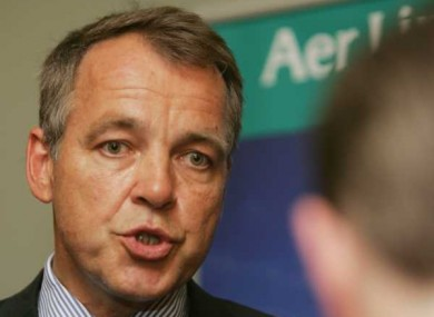 Aer Lingus CEO Christoph Mueller give clearest signal yet he is interested in aquiring Bmi Heathrow slots