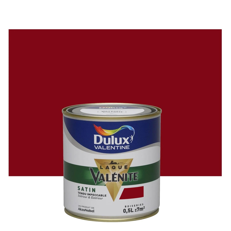 Peinture Rouge Basque Satin DULUX VALENTINE Valnite 05 L