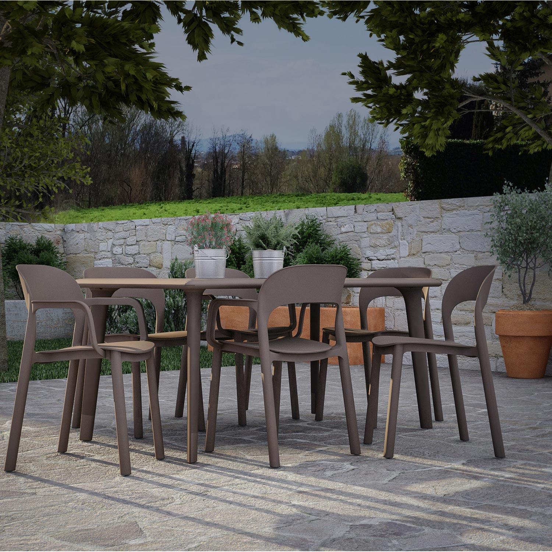 Table De Jardin Resine Verte | Soldes Jardin Table D 39appoint En ...