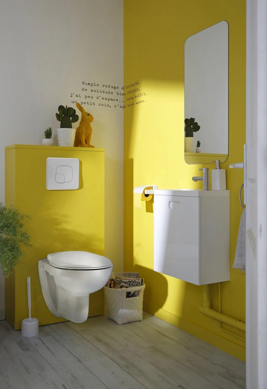 Un WC suspendu pour un esprit contemporain dans vos toilettes  Leroy Merlin