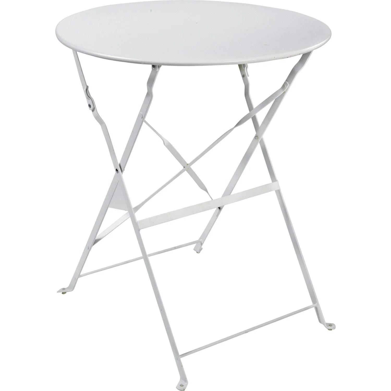 Table De Jardin Ronde A Vendre | Table Pliante Ronde Valise 122cm ...