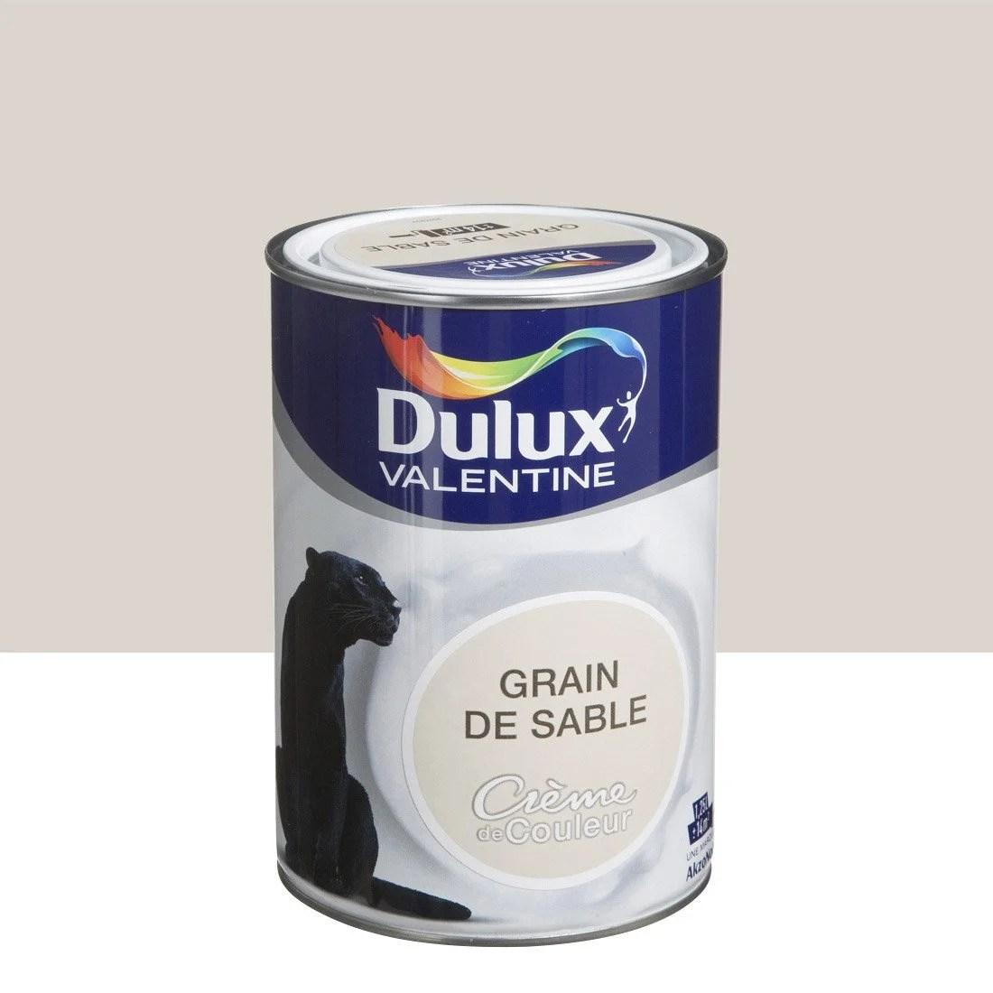 Peinture Beige Grain De Sable Satin DULUX VALENTINE Crme