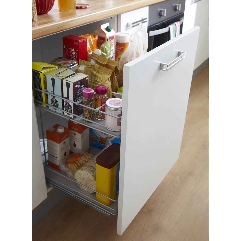 poubelle cuisine pour meuble de 30 cm