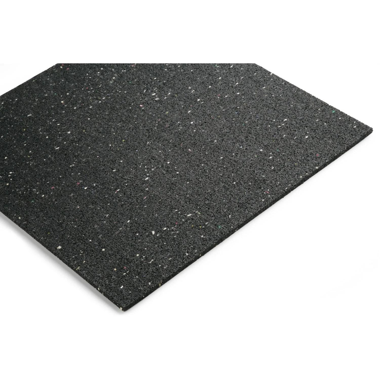 plaque de sol caoutchouc anti vibrations noma rub l 0 6 m x l 0 6 m x ep 10 mm
