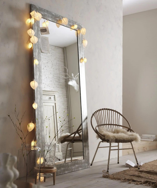 Un Miroir Sur Pied Qui Agrandit La Piece Leroy Merlin