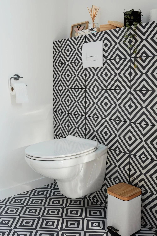 un wc suspendu a geometrie variable
