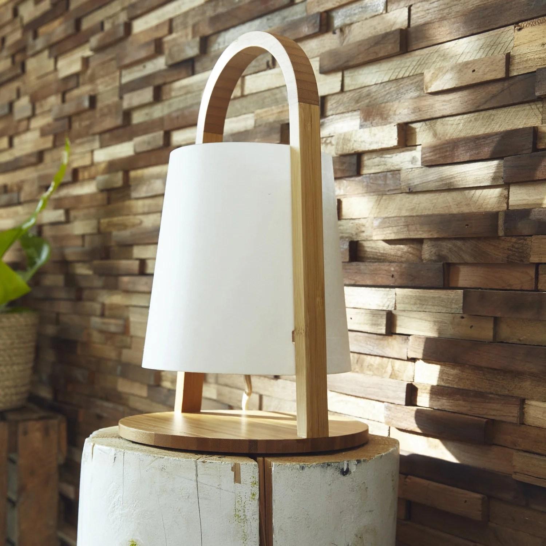une lampe a poser au design scandinave