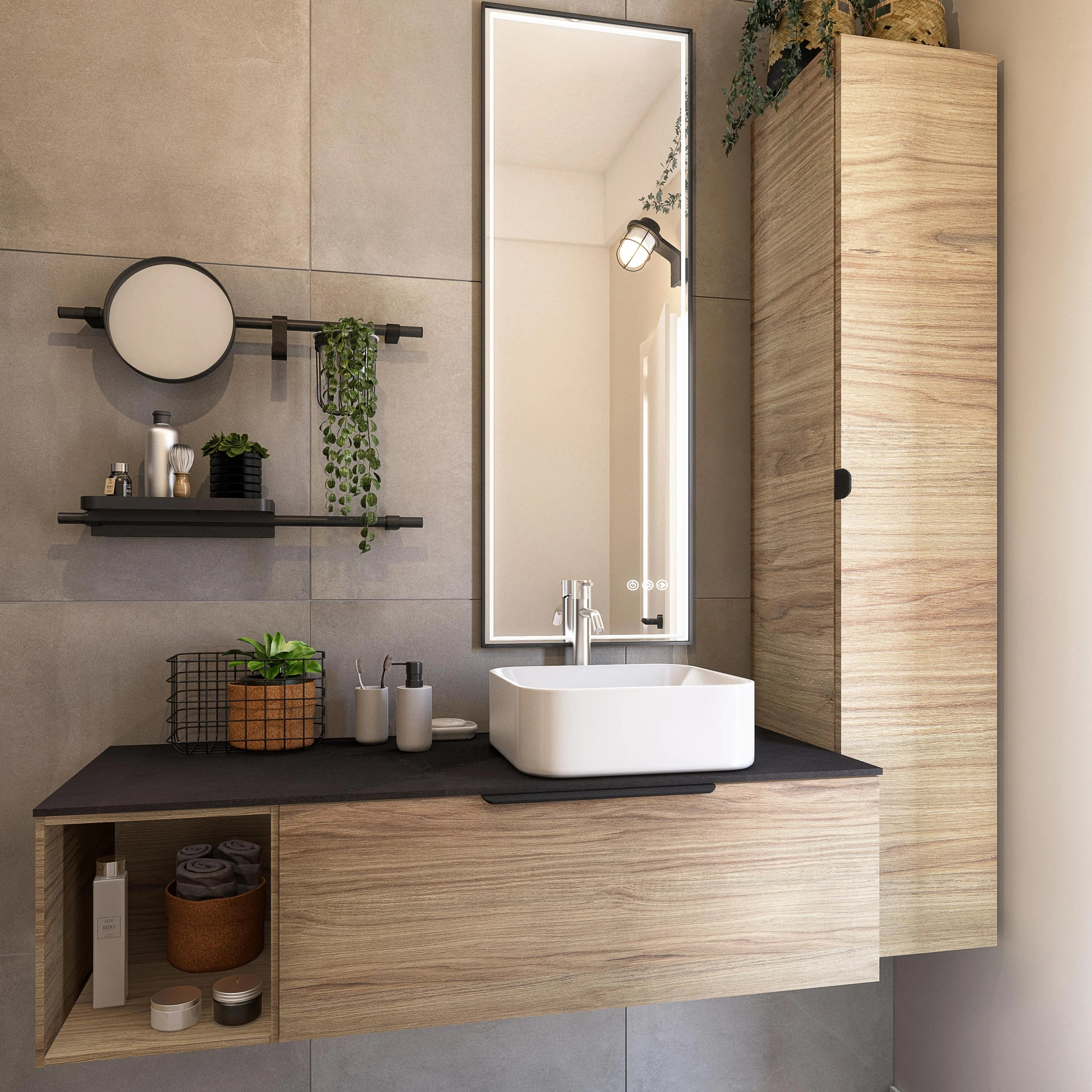 Photos Vasque De Meuble De Salle De Bain Concept Neo Full Version Hd Quality Concept Neo Maison Design Paris Blason Louis Fr