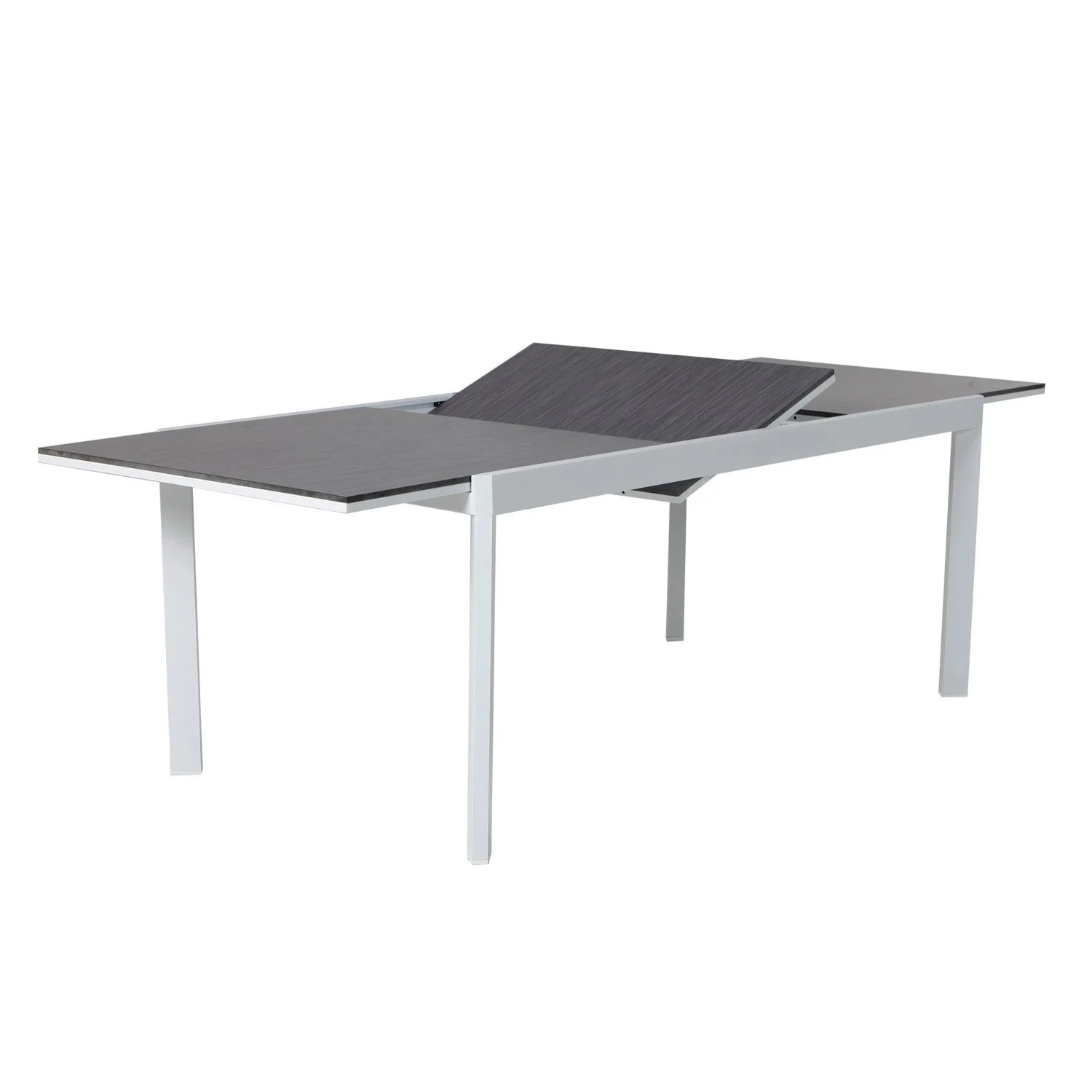 Table De Jardin Pvc Gris | Salon De Jardin Gris Anthracite Pvc Best ...