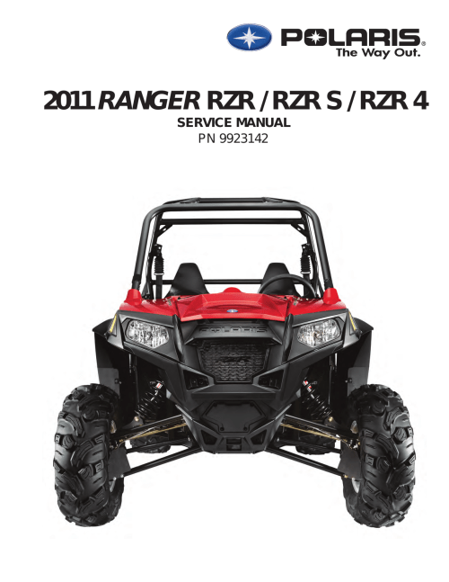 small resolution of polaris rzr s user s manual