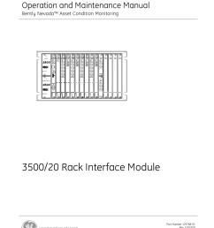 3500 20 rack interface module [ 1275 x 1651 Pixel ]