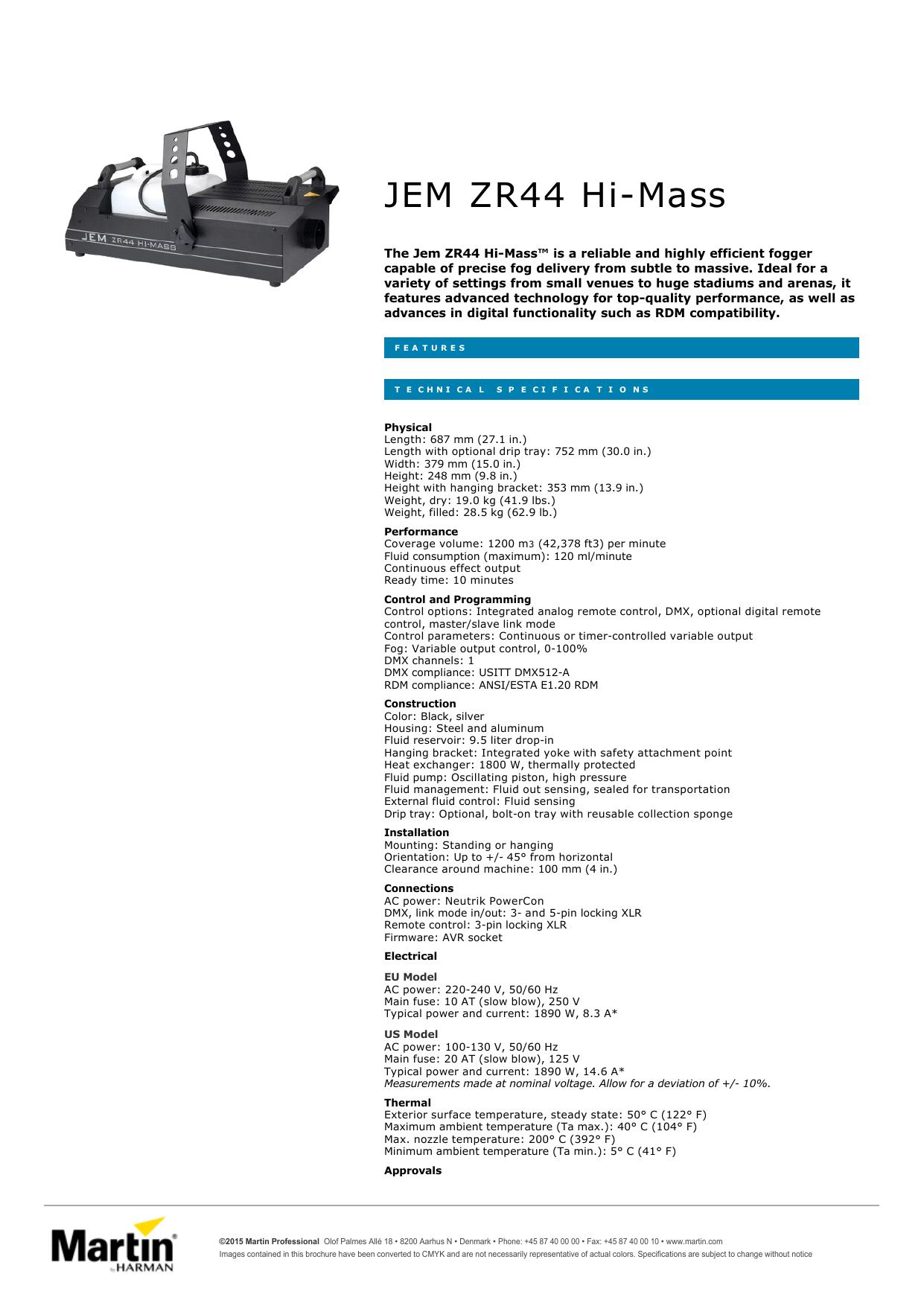 hight resolution of jem zr44 hi mass performance audio
