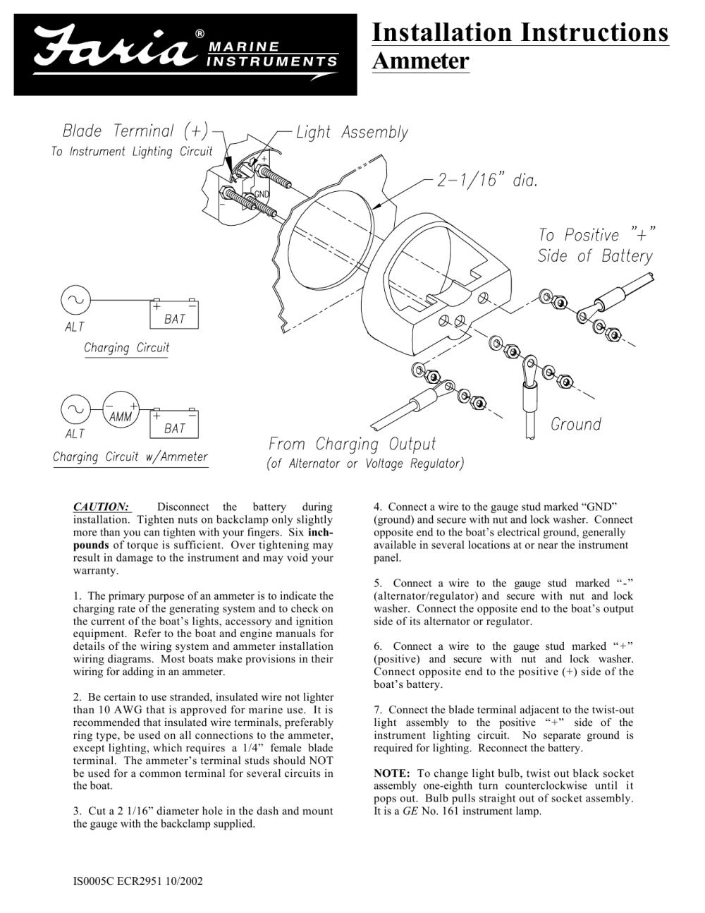 medium resolution of  installation instructions manualzz com on boat trim tabs wiring diagram boat speedo wiring