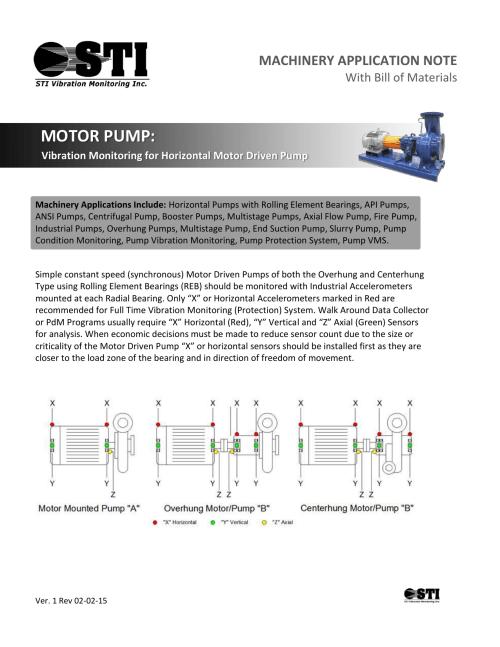 small resolution of motor pump sti vibration monitoring inc