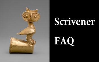 Scrivener FAQ