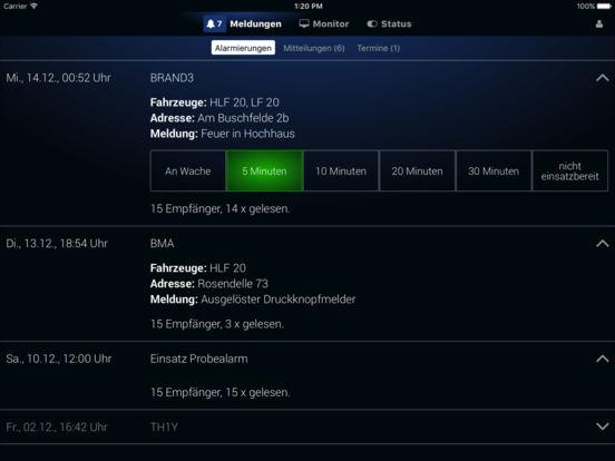 DIVERA 24/7 – Alarmierung & Einsatzbereitschaft Screenshot
