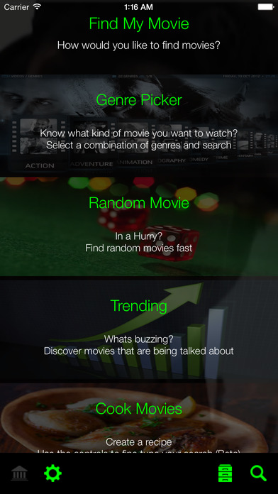find my movie discover