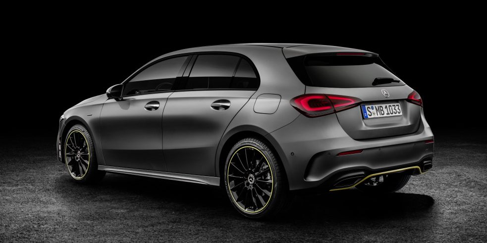 2018 Mercedes Benz A Class Mercedes Benz A