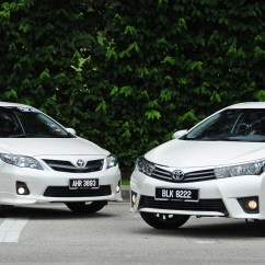 All New Corolla Altis Indikator Grand Avanza Gallery Old And Toyota Compared Image