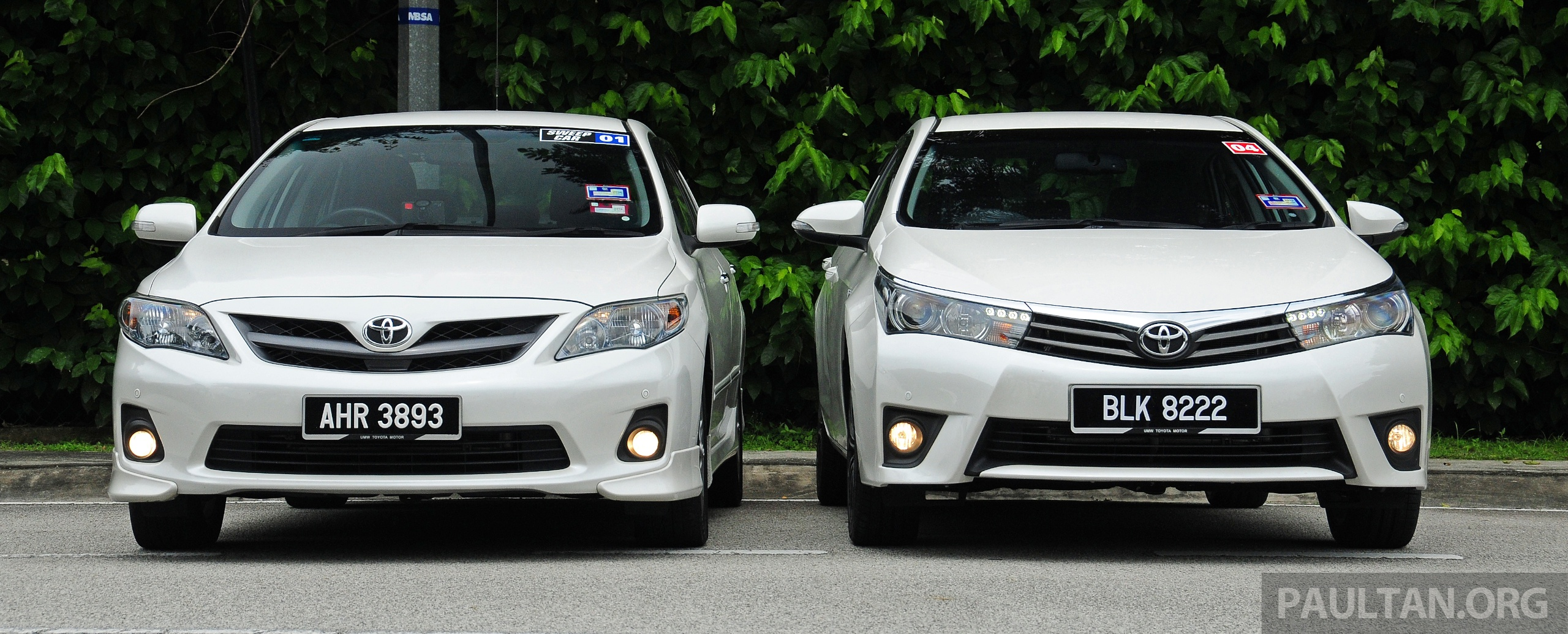 all new corolla altis alphard 2021 gallery old and toyota compared image