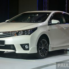 All New Corolla Altis 2018 Grand Avanza 1.5 G M/t Limited 2014 Toyota Officially Launched Paul Tan