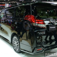 Toyota All New Alphard 2015 Ukuran Grand Avanza Vellfire Launched In Thailand Image