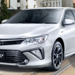 All New Camry Thailand Lampu Grand Avanza 2015 Toyota Facelift Range Launched In