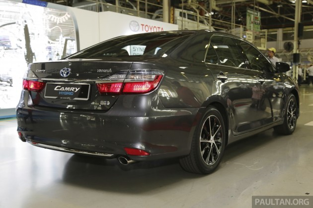 brand new camry hybrid agya trd s toyota facelift begins production in malaysia line off 43