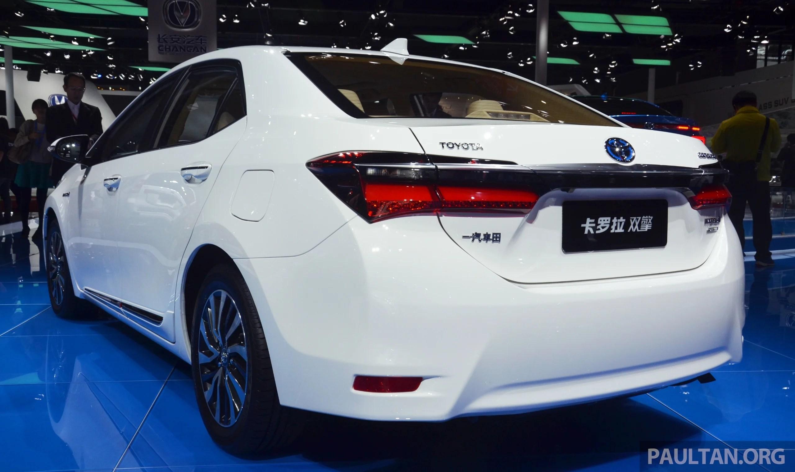 all new corolla altis 2018 kijang innova 2.4 v a/t diesel shanghai 2015 toyota hybrid levin hev debut paul